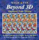 Magic Eye Beyond 3D: Improve Your Vision by Marc Grossman