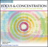 Focus & Concentration Paraliminal CD