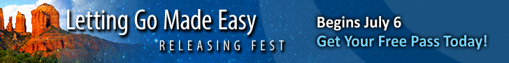 Letting Go Made Easy ReleasingFest Begins July 6