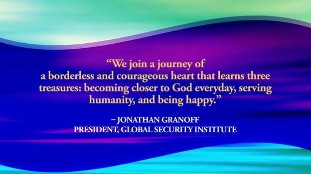 banner with J Granoff quote