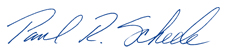 Paul Scheele Signature